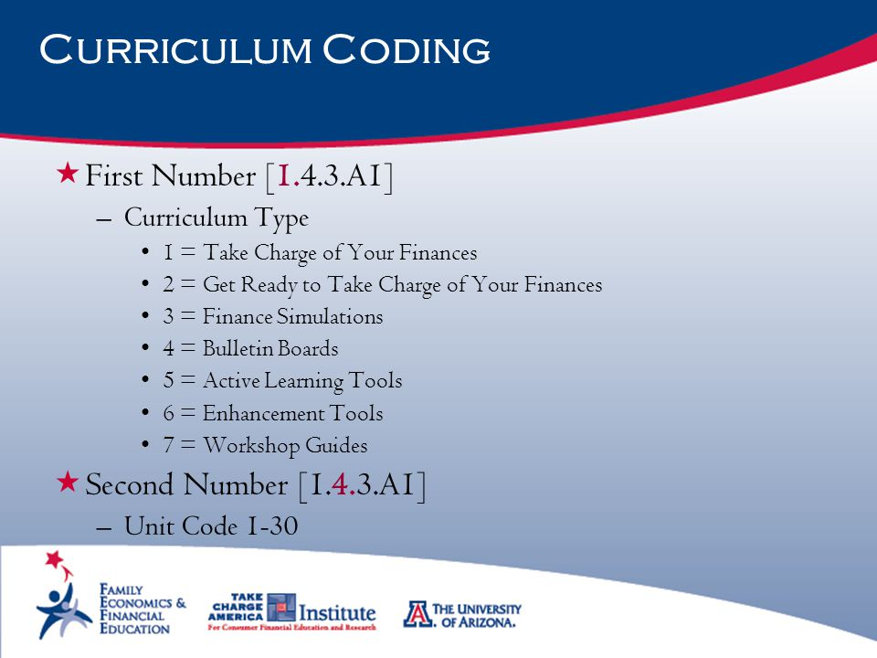 Curriculum Coding First Number [1.4.3.A1] Second Number [1.4.3.A1]